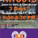 Girls bball tryouts