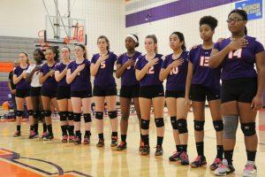 Varsity Volleyball vs Huntingtown