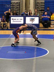 Wrestling at Lackey
