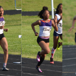 Girls Varsity Track and Field Defeats La Plata and Patuxent in Tri-Meet