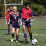 Jv girls soccer vs Calvert