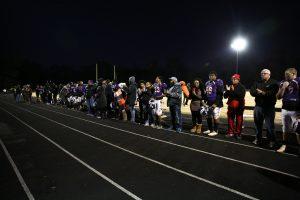 ROTC/Golf/Cheer/Football Senior Night