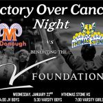 Basketball Victory Over Cancer Game 1/22/2020