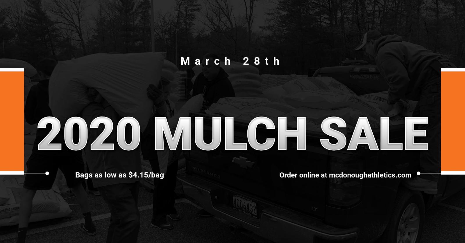 2020 Mulch Sale