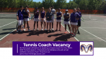 Head Tennis Coach Vacancy