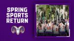 Spring Sports Return March 15