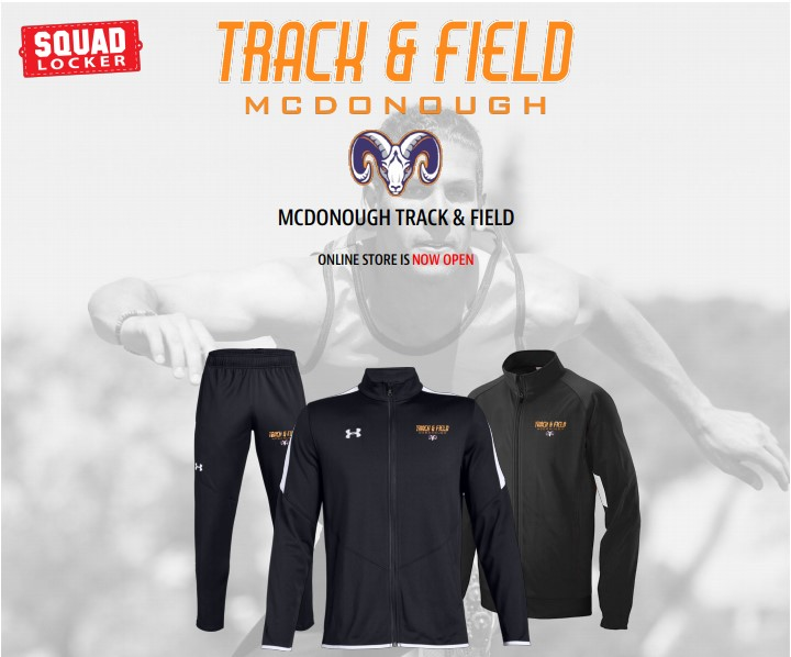 Track & Field Store is OPEN