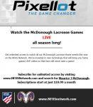 Watch Lacrosse games LIVE