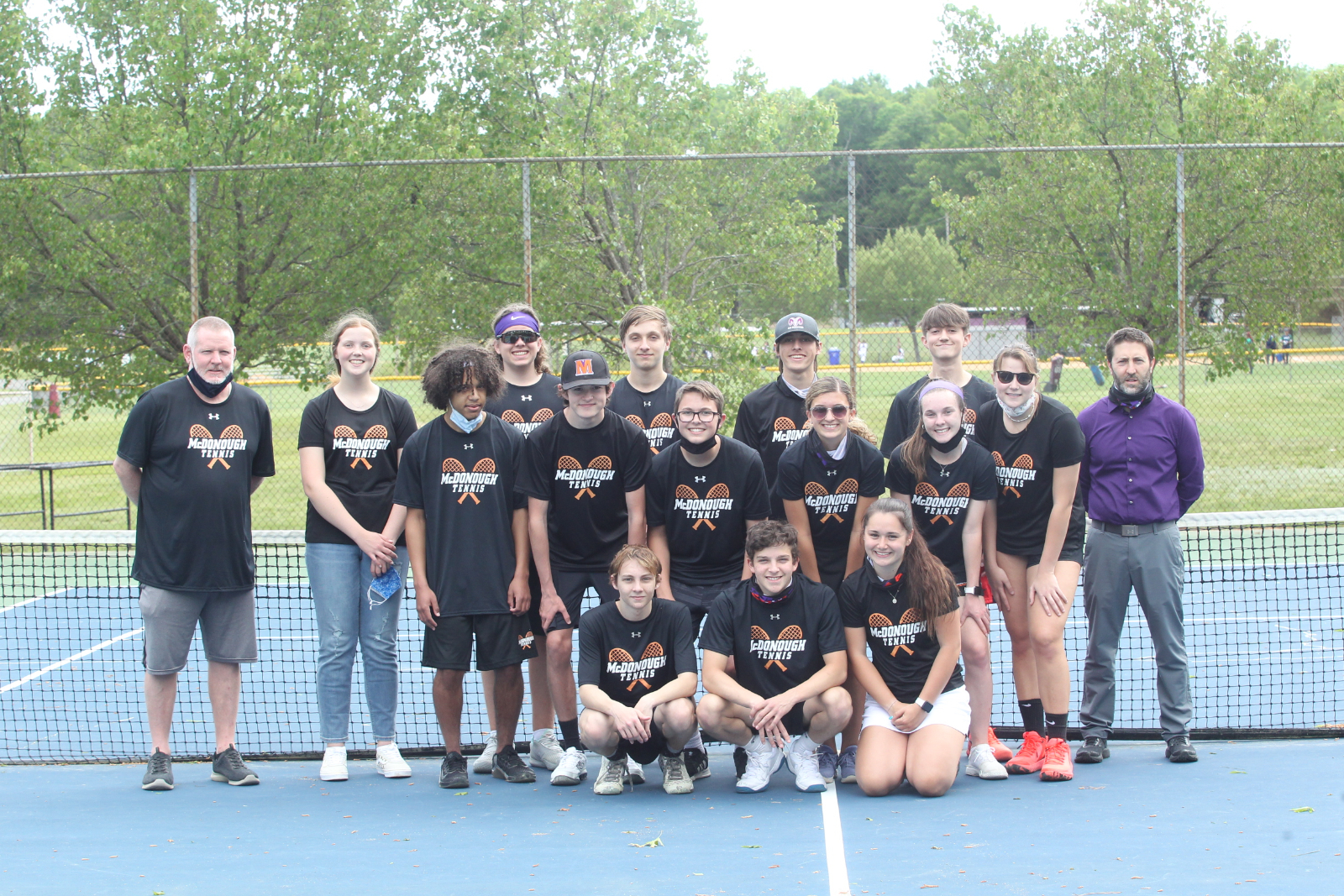 Tennis vs St Charles Senior Night