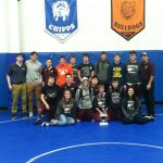 HS Wrestling finishes 2nd @ Northwestern