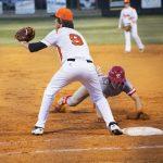 Baseball falls to Toombs 5-4
