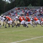 Football Scrimmage Vs Tattnall Co