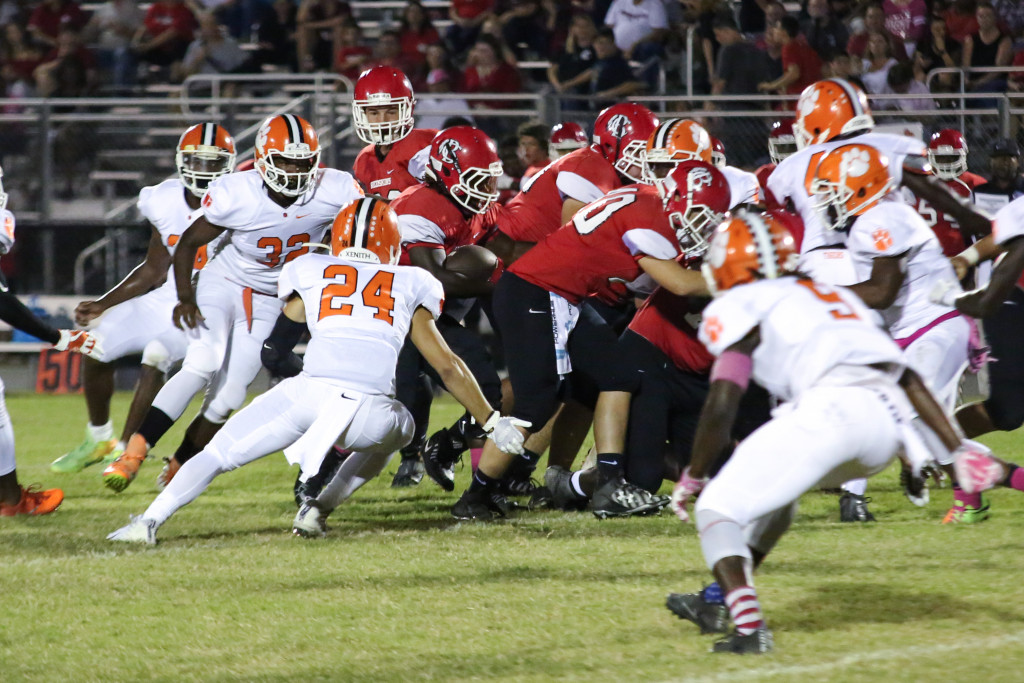 Tigers Beat Bacon Co 31-12