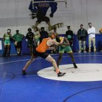 Wrestling competes at Sectionals