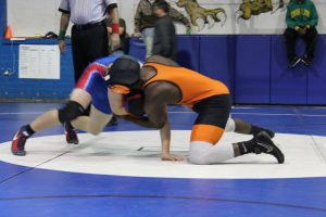 Wrestling at Montgomery County 12/17