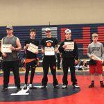 MHS Advances at Area Wrestling Tournament