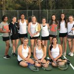 Girls Tennis Secures State Playoff Berth