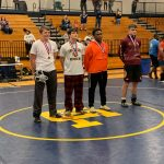 MHS Wrestling Competes at Area Meet