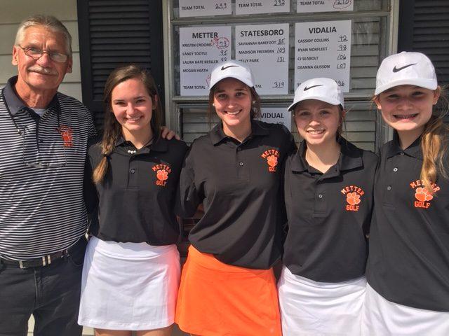 Girls Golf 1st at Taylormade Invitational
