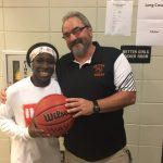 Shay Johnson Scores 1000th Career Point