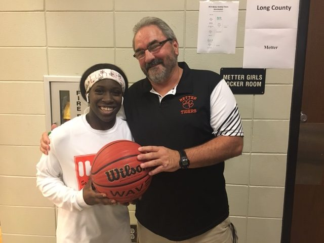 Shay Johnson Scores 1000th Career Point