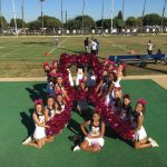 JV Cheer Supports Breast Cancer Awareness!