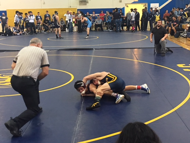Millikan Wrestling Defeats Poly in Moore League Opener
