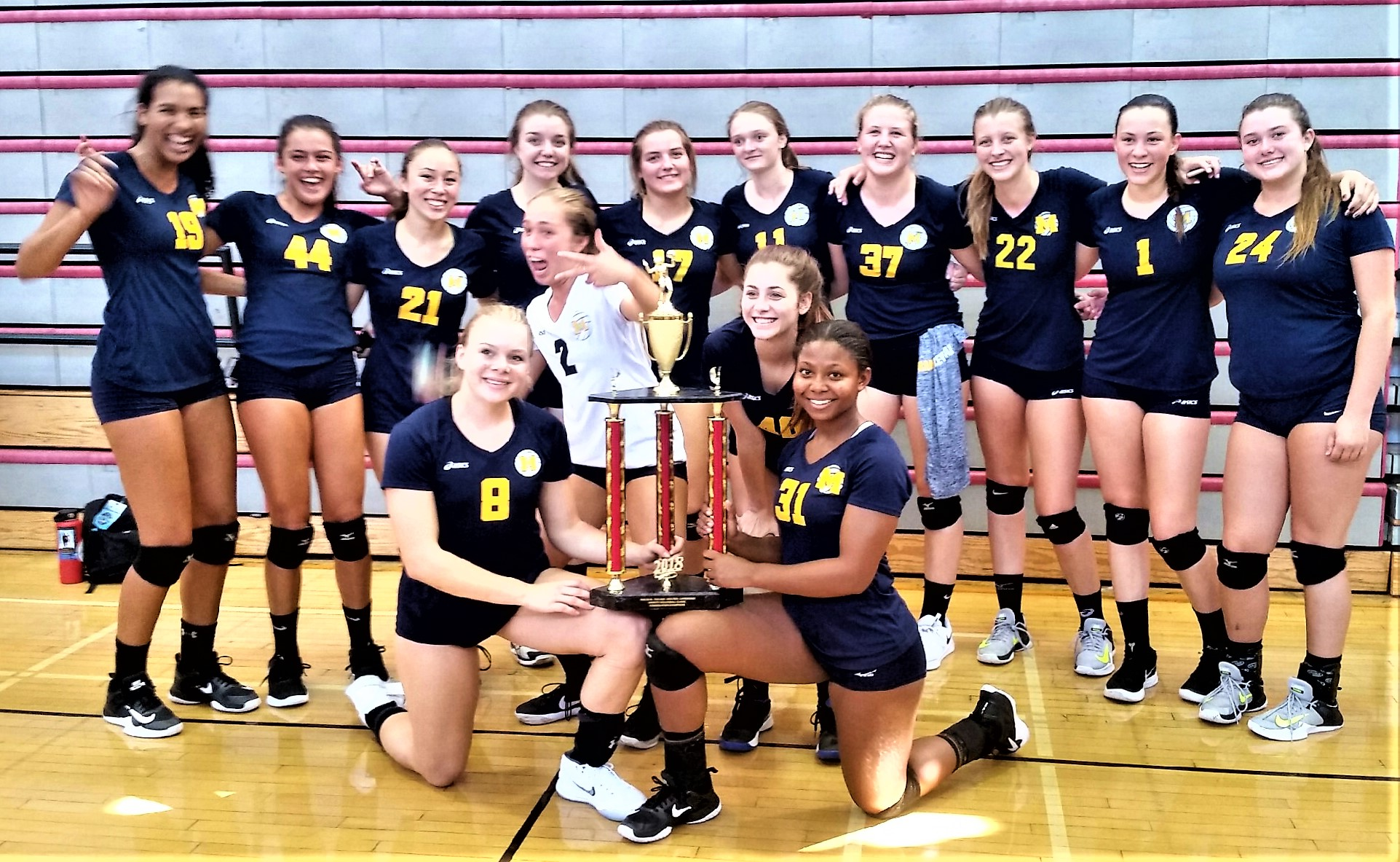 Millikan Girls Volleyball Show of Strength