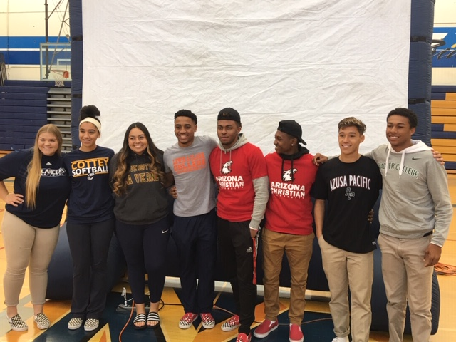 Millikan College Bound Athletes Honored Today
