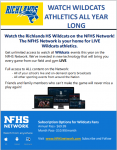 Watch the Wildcats on the NFHS Network