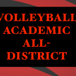Volleyball Athletes Awarded Academic All-District