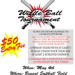 Softball Wiffle Ball Tournament