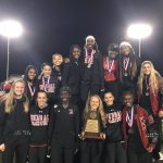 Varsity Girls Track are Area Champions!