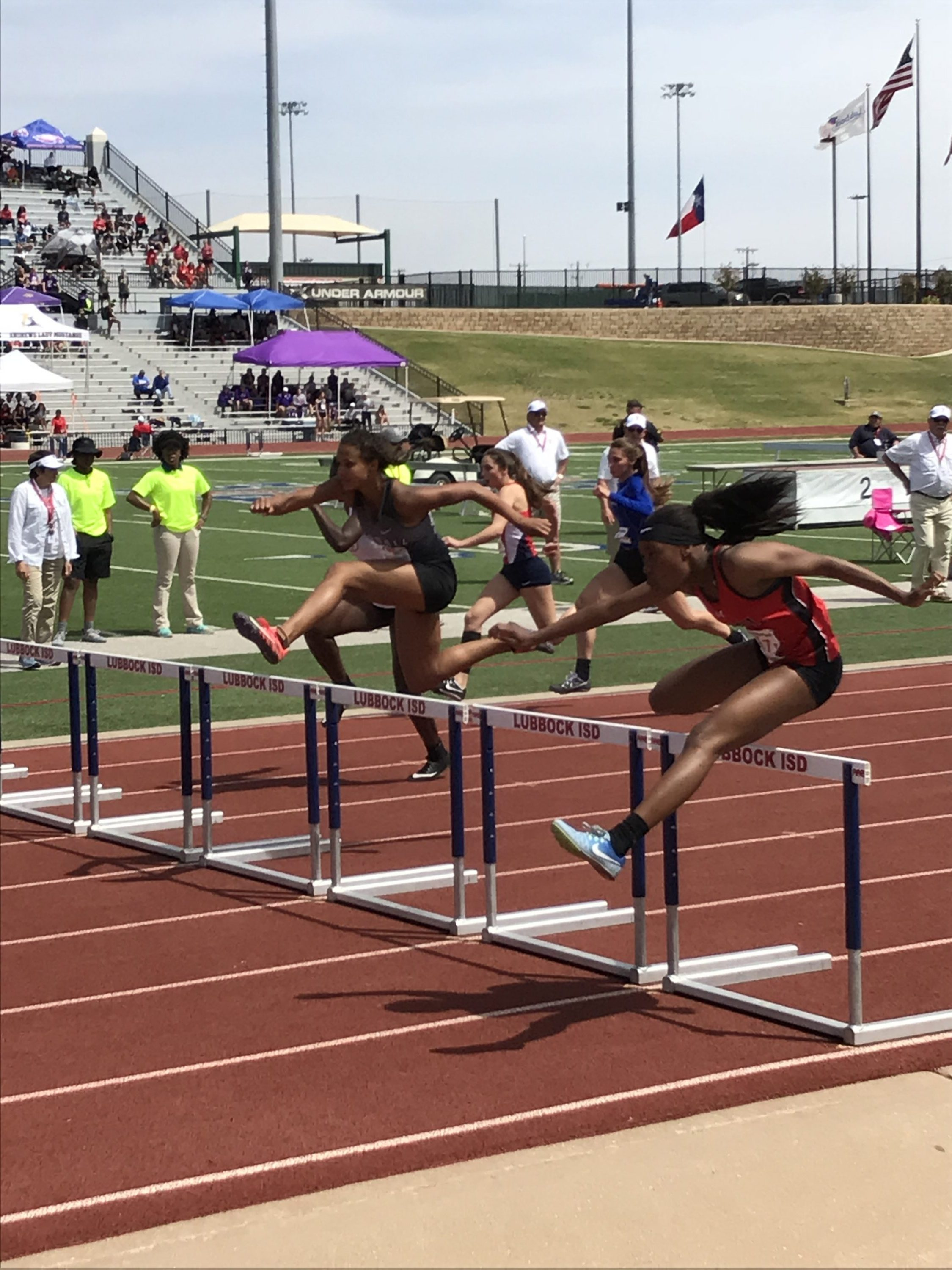 Kelaysia Holland State Qualifier in 100 and 300 Meter Hurdles