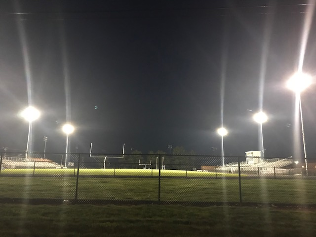 Tipton HS football lights will be on tonight in memory of  North Centrals Athletic Director Paul Loggan.  Our prayers and thoughts go out to the Loggan family.    @panthersnc