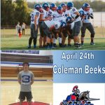 Raider of the Day – Coleman Beeks