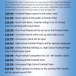 1st Annual Raider Football Community Day