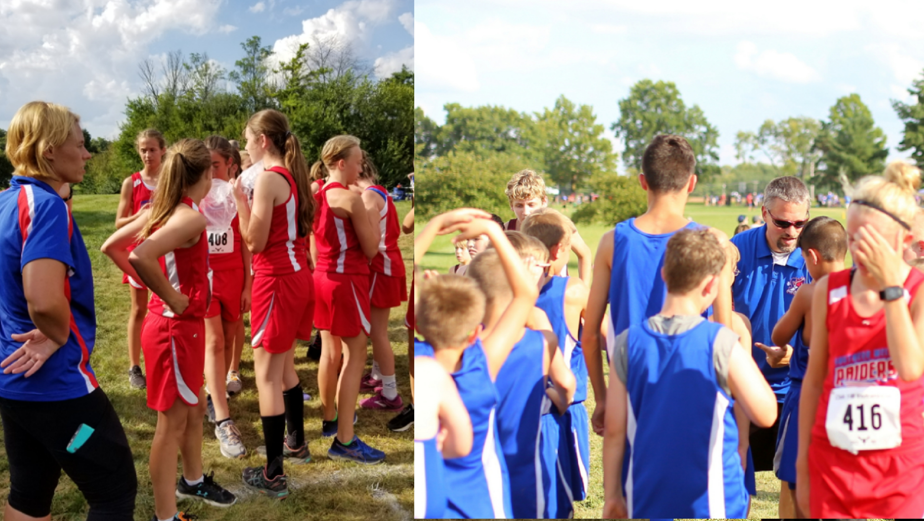 JH XC Places 3rd and 4th at Oak Hill Invite!