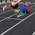 Boys Varsity Track looses against a strong Eastbrook team