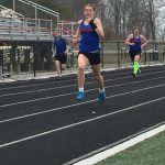 Varsity Girls Track falls to Eastbrook but Preforms Well