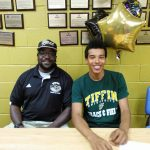 Treyvon Smith signs to run at Tiffin University 5/27/15
