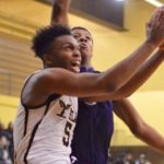 Ypsi Men's Varsity Basketball gets win over a good Flint Hamady Team 1/5/16