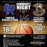 Ypsilanti Community Night – January 18th – Friendly Reminders