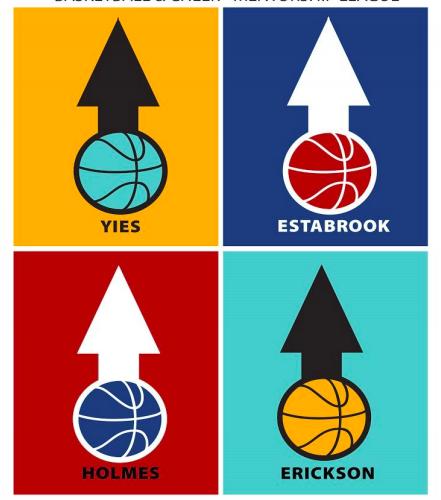 Man Up Kid Down Basketball & Cheerleading Mentorship Program.