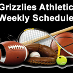 Grizzlies Athletic Weekly Schedule 09/21/20 – 09/26/20