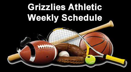 Grizzlies Athletics – All Activities Cancelled – March 13 – April 13