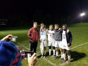 End of Boys Varsity Soccer season