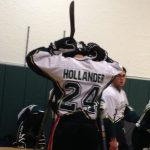 Hollander Steps up Big for Varsity Hockey