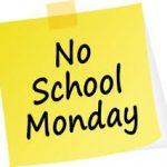 NO SCHOOL – MONDAY, NOVEMBER 30, 2020