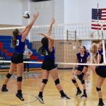 8TH VOLLEYBALL VS TUSLAW 10/3/18